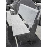 花岗岩庭院长凳 公园石材长凳长椅批量零售