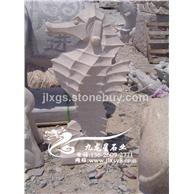 现货 海马石雕流水摆件 批发室内仿古喷水小品景观雕塑
