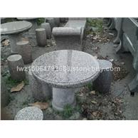 大理石石桌 花岗岩石桌子 石凳子