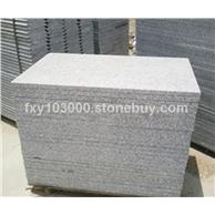 芝麻灰花岗岩G655#石材 655福建灰麻工程板