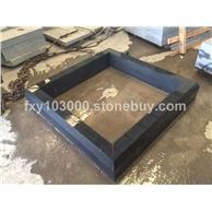 芝麻黑G654石材水沟板深灰麻 (2)