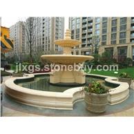 石材喷泉 石雕喷泉 主入口水景