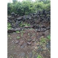 红火山岩片石