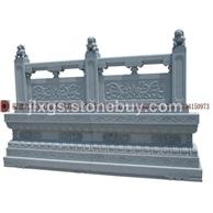 石雕栏杆 围墙石栏板 安全防护栏