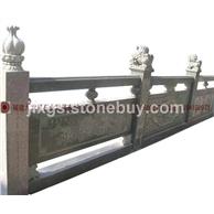 青石汉白玉栏杆 小区景观专供 小桥扶手石桥