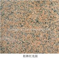 桂林红天山红新疆红 光面条板 工程板 石材板