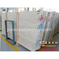 白木纹大板大理石2.5cm厚 A级板面 装饰石材精品