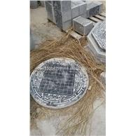 供应石雕圆桌 家庭圆桌 晚霞红圆桌 石桌子 仿古石桌