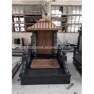 供应中国式墓碑 中式墓碑 国内墓碑  雕刻