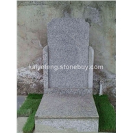 芝麻灰花岗岩墓碑