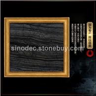 古木纹大理石背景墙 木纹系列石材 背景墙地面拼图大理石