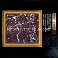 紫罗红门套天然大理石线条门套窗套背景墙套石材红色门套线条