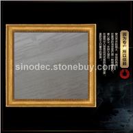 木化石高档石灰石墙面石材