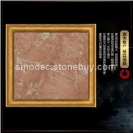 戴安娜粉红色大理石地板 新矿橙皮红大理石门头石楼梯板窗台