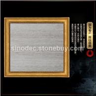 木纹大理石 白木纹天然大理石定制背景墙 木纹白墙面大理石