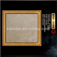 闪电米黄天然大理石地板地砖 高档米黄色进口石材流行石材