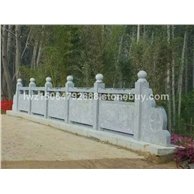 青石栏板 景区栏板石雕围栏 石围栏 石栏杆 雕刻栏杆