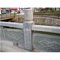 石雕围栏 石雕护栏 河道栏杆