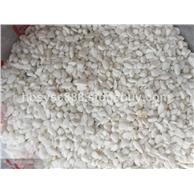 白色石子彩砂硅砂蘑菇石文化石马赛克