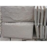 白砂岩蘑菇石板岩