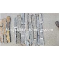 绿石英毛边条红锈断茬毛边水泥测粘文化石