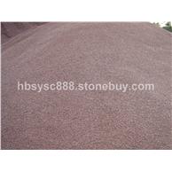 珍珠红彩砂,石子8-10-+006