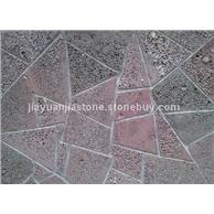 红灰洞石马赛克,花岗岩,玄武石,火山石,海南黑,洞石