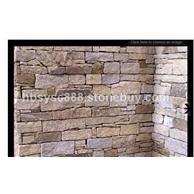 墙石电视背景墙文化石蘑菇石
