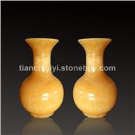 米黄玉 古典花瓶