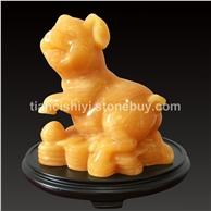 米黄玉 生肖猪