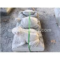 青蛙-青砂岩雕刻