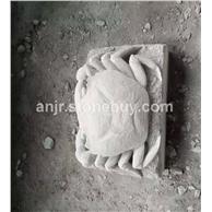 青砂岩雕刻螃蟹