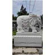 石雕大象 公司工厂大门摆设 招财进宝大象石雕