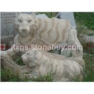 石雕动物 公园动物雕像 旅游景观动物雕像