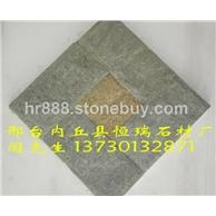 厂家直销绿石英,绿色板岩,绿色文化石,绿色蘑菇石,网贴石,绿色石材