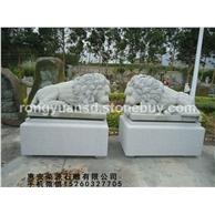 石雕狮子 欧洲狮子雕塑 瑞兽  出口石狮子