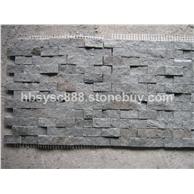 供应板岩绿石英网贴石,蘑菇石文化石