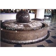 天然石材小石球 庭院风水球 花岗岩石球  景观石球