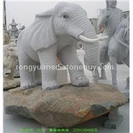 石雕象 石象 大象雕刻 动物雕刻665