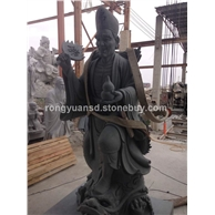 活佛济公石雕 人物雕塑 景观园林雕塑