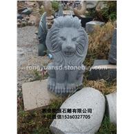 石雕狮子 欧洲狮子 园林动物雕塑 林雕塑   园林雕刻,动物 人物石雕 喷水池 花钵栏杆  花岗岩石