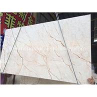美尼斯金/米黄色大理石/国能石材/大量荒料板材