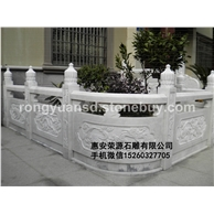 石雕栏杆 栏杆扶手 大理石栏杆 花岗岩栏杆 黄锈石栏杆063