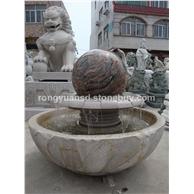 庭院风水球 花岗岩石球 景观转动石球 林雕塑   园林雕刻,动物 人物石雕 喷水池 花钵栏杆  花岗