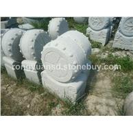 寺庙门墩/青石门墩/石墩雕刻/园林雕刻,动物 人物石雕 喷水池 花钵栏杆 花岗岩石材雕塑