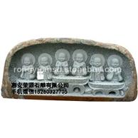 青石浮雕 人物浮雕  佛像浮雕 石料加工 花岗岩石雕加工