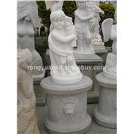 西方人物石雕 汉白玉人物雕刻 花岗岩石材雕塑