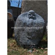 艺术人物雕刻-玄武岩 欢迎洽谈订做