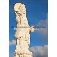 石雕观音 汉白玉滴水观音 送子观音 寺庙佛像