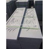河南芝麻白栏板雕刻